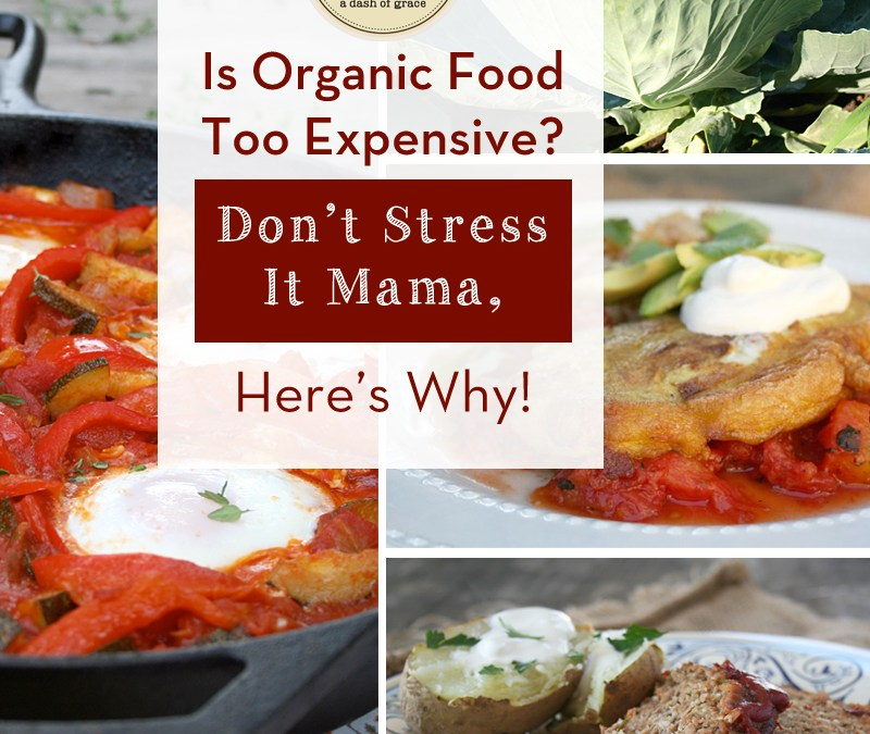 Is Organic Food Too Expensive – A Real Food, Food Budget