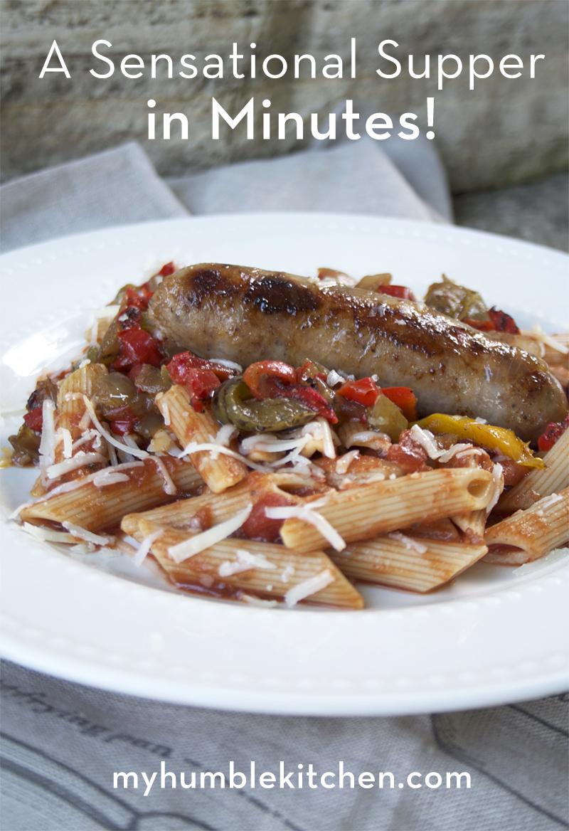 A Sensational Supper in 15 Minutes!   myhumblekitchen.com