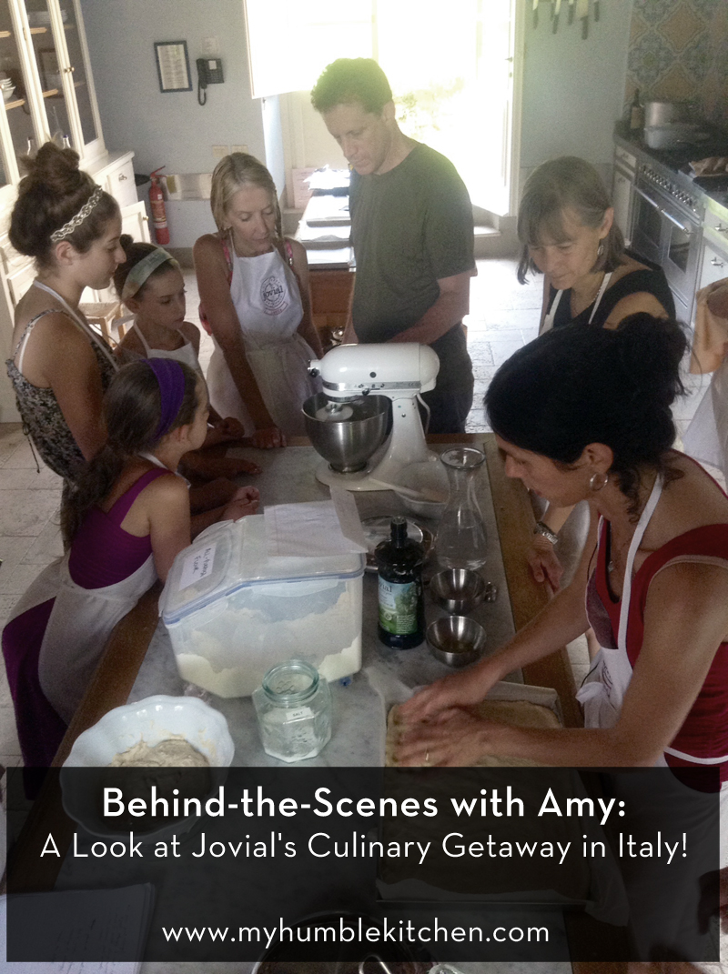 Behind-the-Scenes with Amy: A look at Jovial's Culinary Getaway in Italy! | myhumblekitchen.com