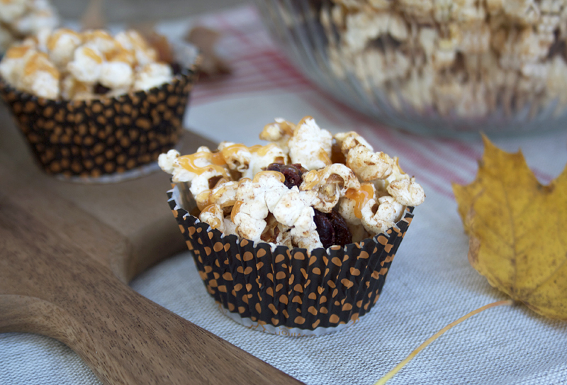 Sweet and Full of Spice, All Natural, Popcorn Treats