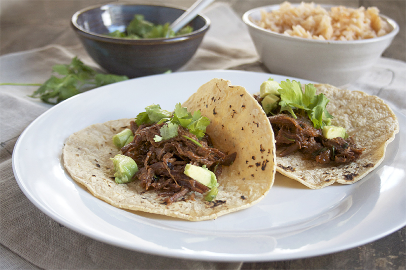 Braised, Mexican Beef Tacos