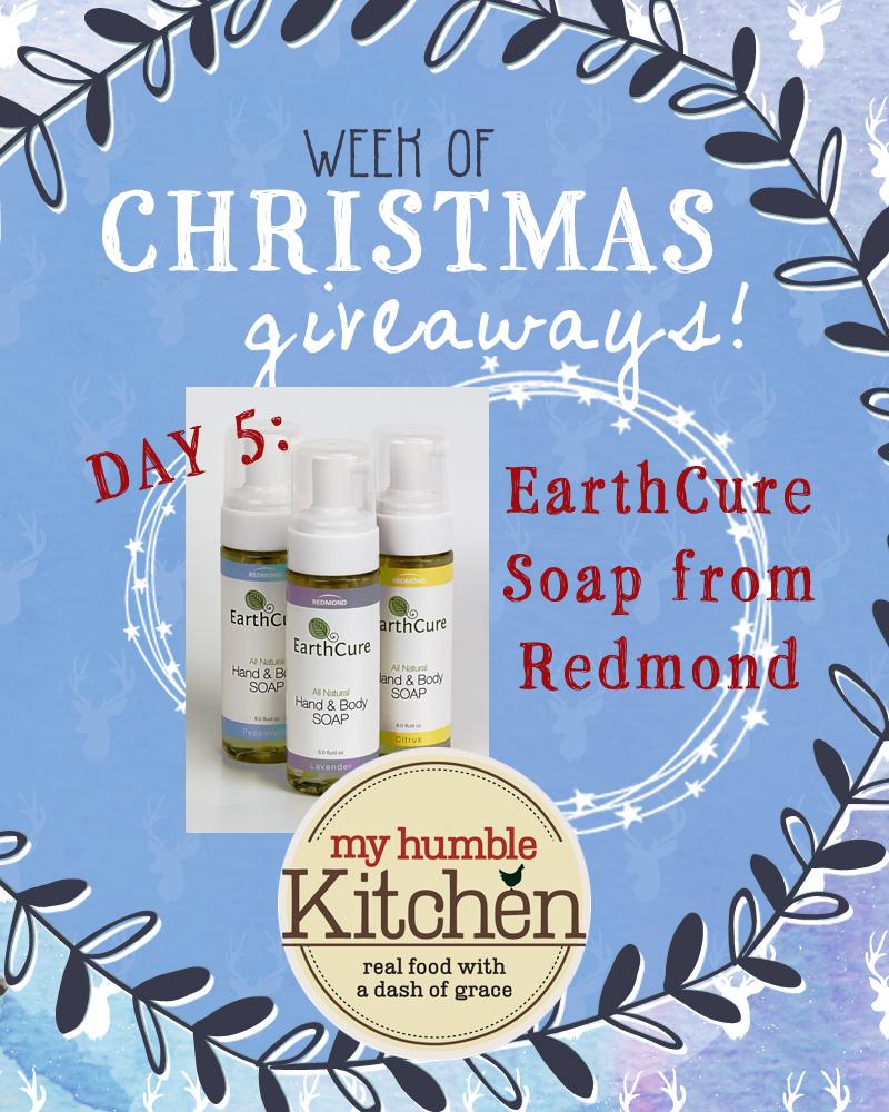 My Humble Kitchen's Week of Christmas Giveaways: Day 5 - Redmond   myhumblekitchen.com