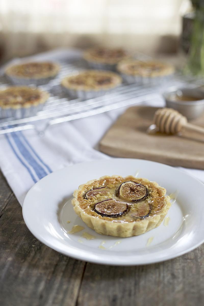 Fig and Honey Tartlets | myhumblekitchen.com