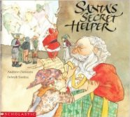 Santa's Secret Helper by Andrew Clements