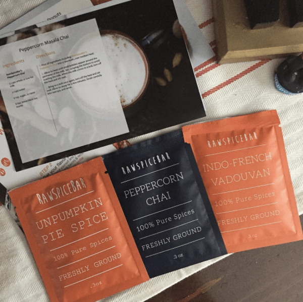 RawSpiceBar | freshly ground spice kits for wildly flavorful meals