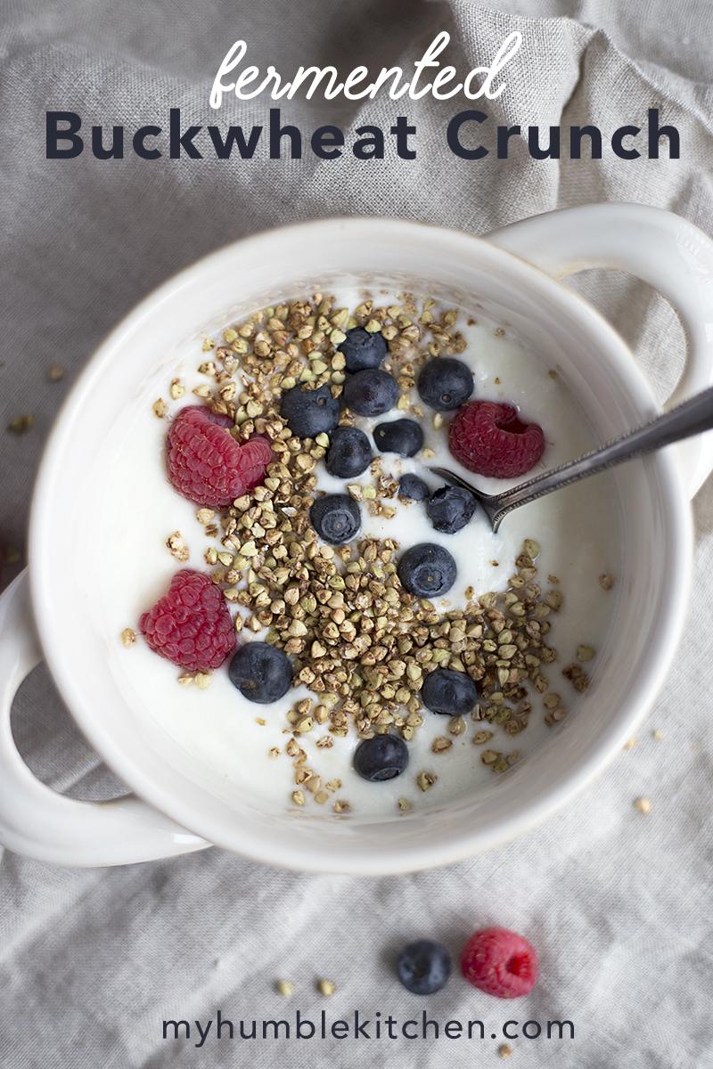 Fermented Buckwheat Crunch - Gluten Free