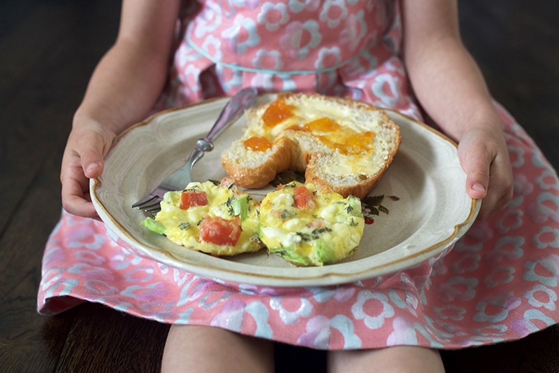 Baked Frittata Kids Can Make for Mother's Day