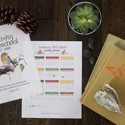 A Charlotte Mason Homeschool Planner, 2017-2018