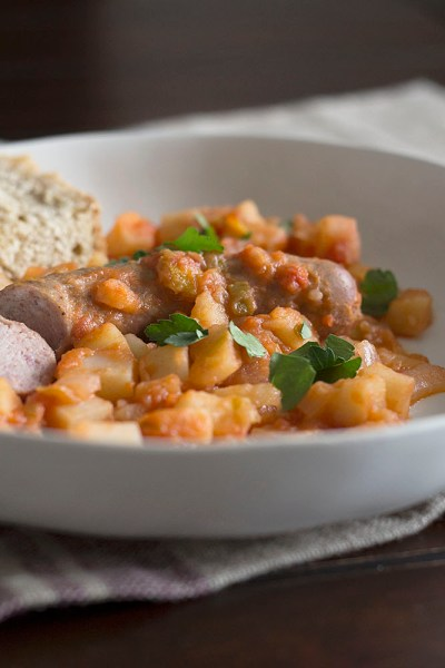 Sausage and Potatoes, A Humble Stew