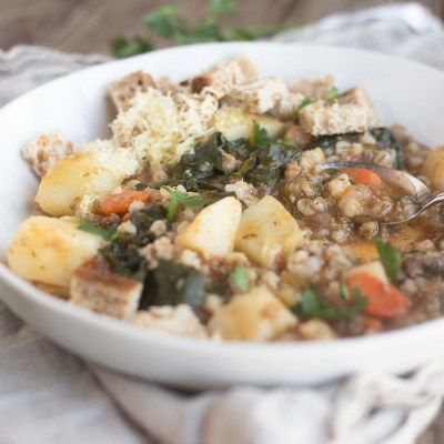 A Simple Beef and Barley Stew | myhumblekitchen.com