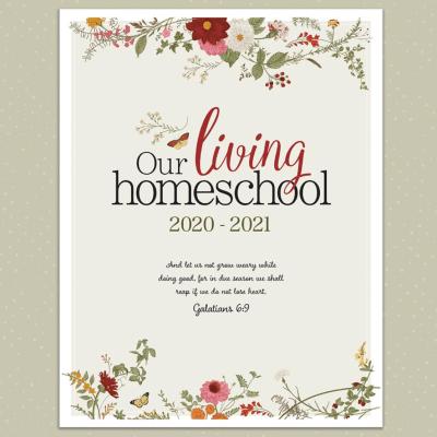 Charlotte Mason Homeschool Planner, Our Living Homeschool | myhumblekitchen.com