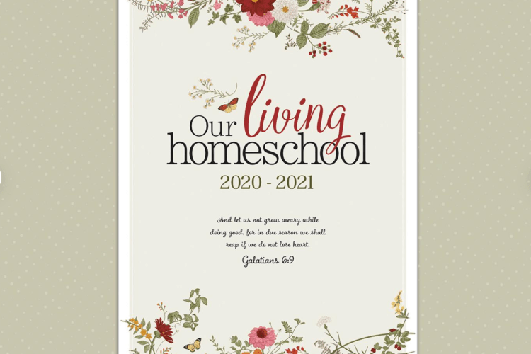 Charlotte Mason Homeschool Planner, Our Living Homeschool | myhumblekitchen.com