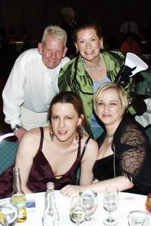 Betty, Helen, Mariette Pathy Allen and Tony Bareto-Neto at the Chicago Be-All