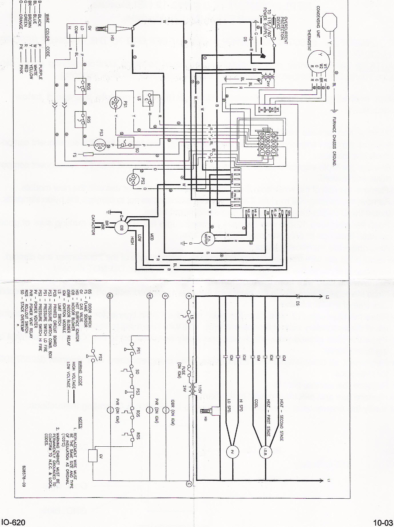 Furnace For Diagram York Wiring Ma14dn21a