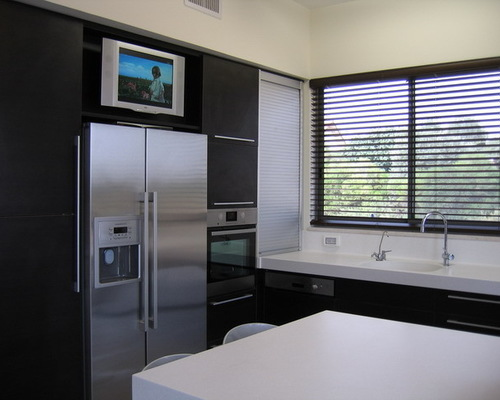 Don T Let Your Tv Ruin Your Kitchen My Ideal Home