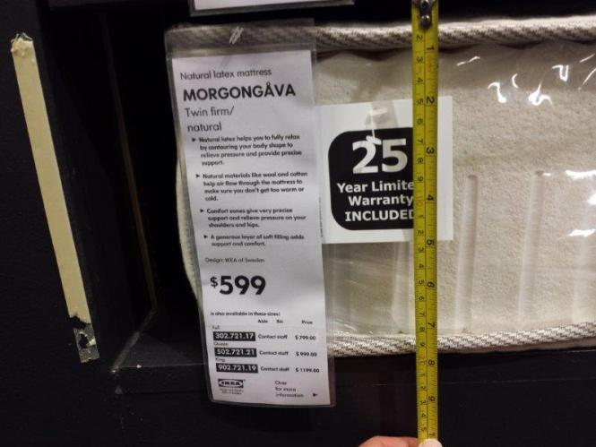 Therefore Trying Out Ikea S Morgongava Natural Latex Mattress Is Worth A Shot In This Review We Will Go Over What You Should Know Prior To Purchasing