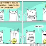 cat comic opinions