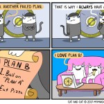 cat pizza comic