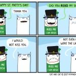 Cat Comic St. Patrick's Day