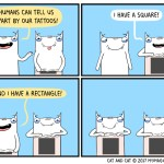 cat comic tattoos