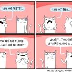 cat comic list
