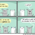 cat comic watchdog