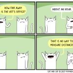 cat comic measure