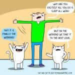 cat comic level