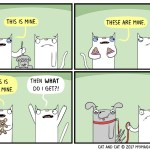 cat comic mine