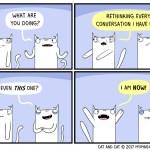 cat comic rethink