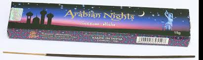 arabian nights incense kamini my incense store