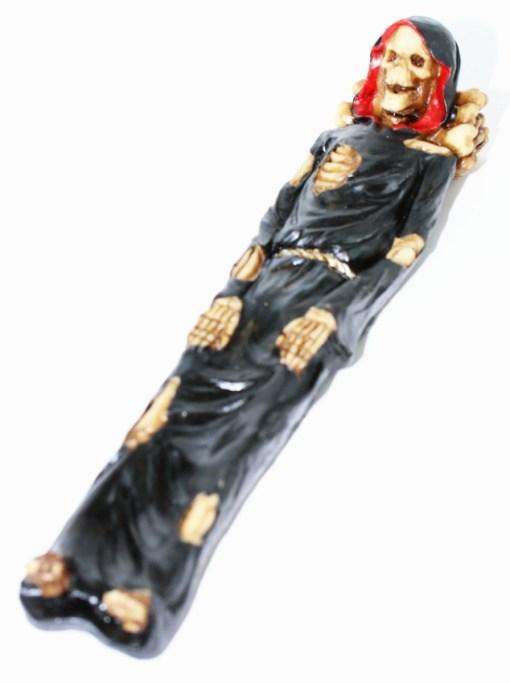 grim reaper sleeping skeleton incense holder3