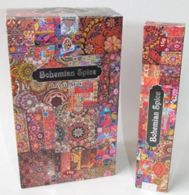 Bohemian Spice Incense Sticks By Kamini