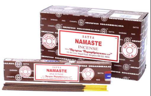 satya sai baba namaste incense sticks