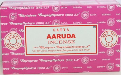 Satya Aaruda Incense Box of 12 packets