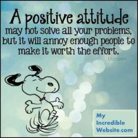 A Positive Attitude Works