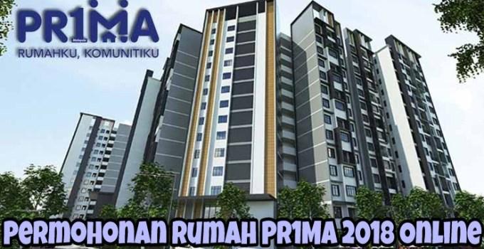 Permohonan Rumah PR1MA 2018 Online