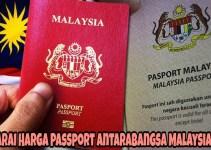 Senarai Harga Passport Antarabangsa Malaysia 2018