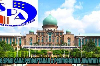 Borang SPA8i Cara Pendaftaran & Permohonan Jawatan Kosong Terkini