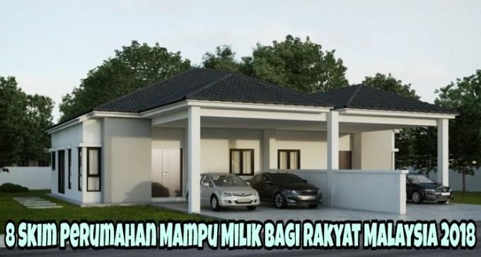 8 Skim Perumahan Mampu Milik Bagi Rakyat Malaysia 2018