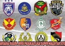 Senarai Rasmi Jersi Pasukan Liga Super Malaysia 2018