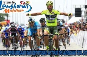 Jadual Perlumbaan Dan Keputusan Le Tour de Langkawi LTdL 2018