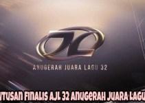 Keputusan Finalis AJL 32 Anugerah Juara Lagu 2018