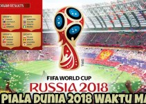 Jadual Piala Dunia 2018 Waktu Malaysia