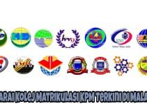 Senarai Kolej Matrikulasi KPM Terkini Di Malaysia