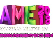 Live Streaming Anugerah Meletop Era 2018 (AME) Online