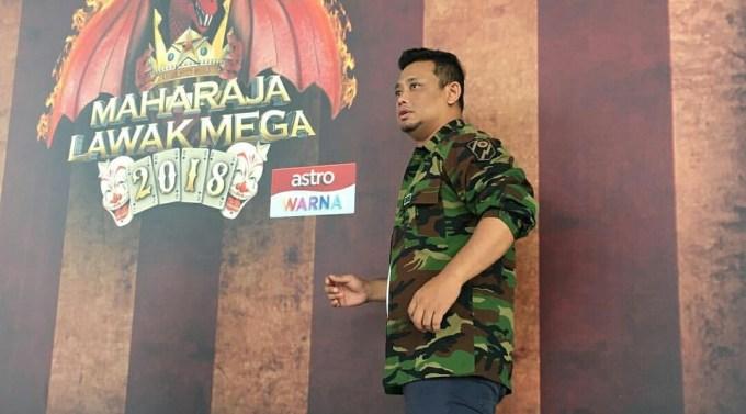 Biodata Hilmi Ashley Peserta Solo Maharaja Lawak Mega 2018