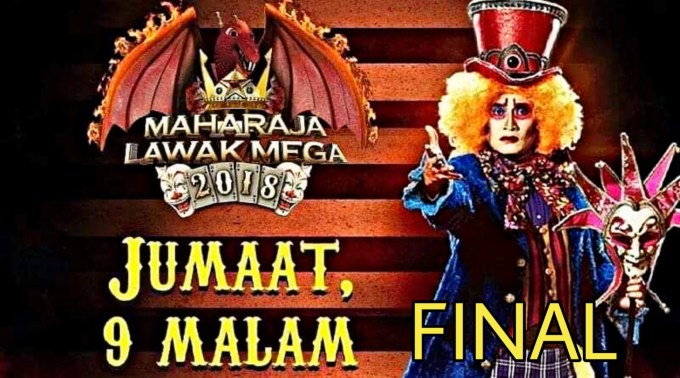 Live Streaming Final Maharaja Lawak Mega 2018