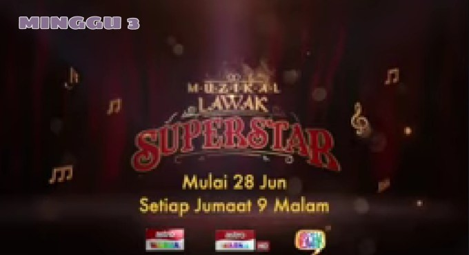 Live Streaming Muzikal Lawak Superstar 2019 Minggu 3