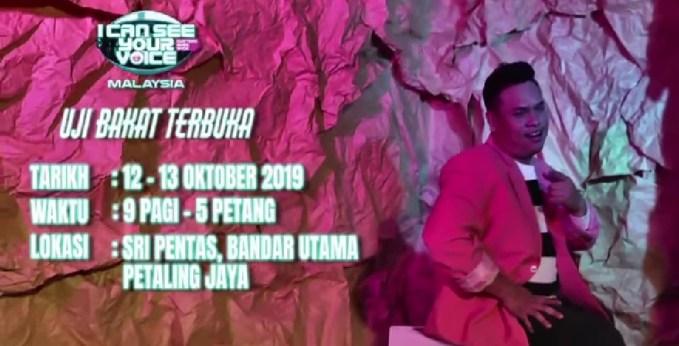 Tarikh Ujibakat I Can See Your Voice Malaysia 2020 Season 3 (Lokasi)